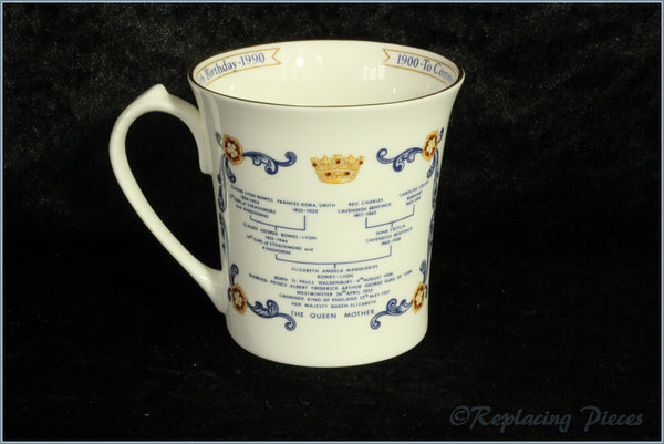 Aynsley - Royal Commemorative Mug - Queen Mother