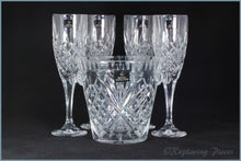Royal Doulton - Decanters Sets - Set Of Four Flutes & Ice Bucket