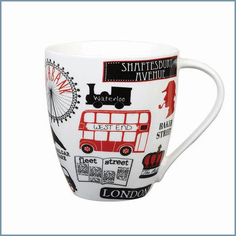 James Sadler For Queens - London Life Crush Mug