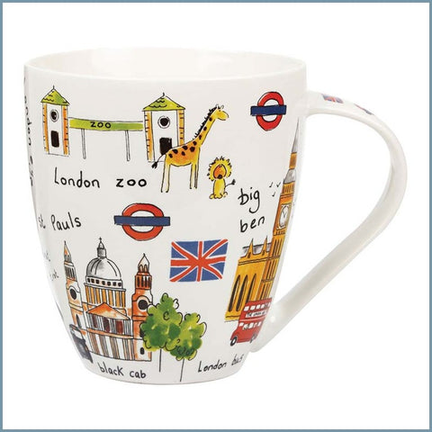 James Sadler For Queens - Sights Of London Crush Mug