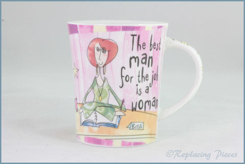 Johnson Brothers - Born To Shop - Mug (Best Man)