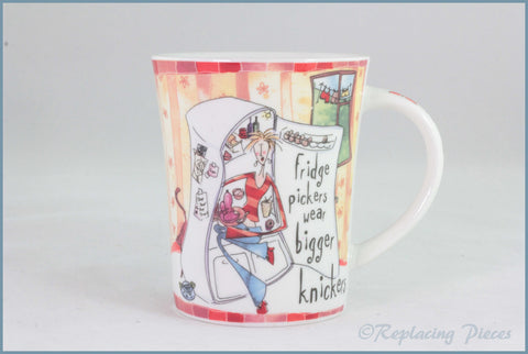 Johnson Brothers - Born To Shop - Mug (Bigger Knickers)