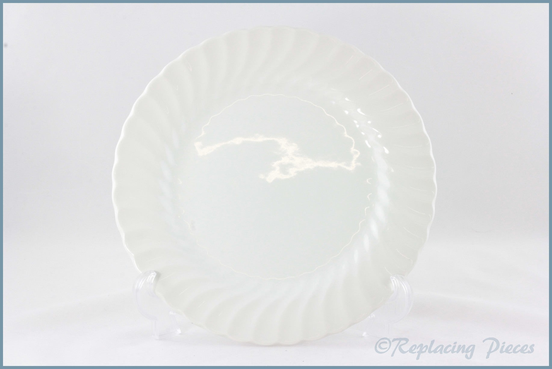 "Johnson Brothers - Regency White - 8 3/4"" Salad Plate"