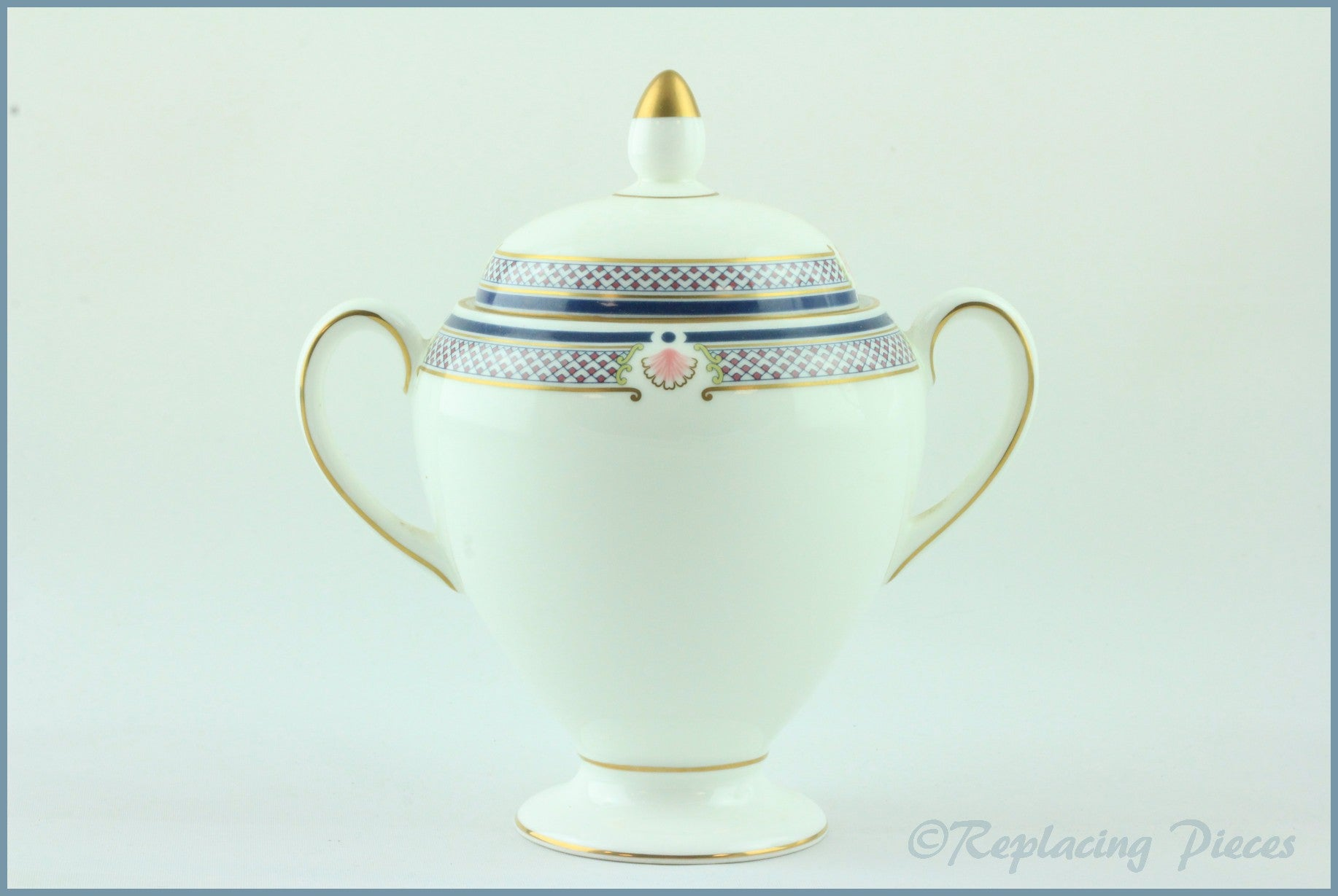 Wedgwood - Waverley - Lidded Sugar Bowl (Tall)