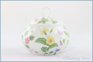 Queens - Country Meadow - Lidded Sugar Bowl