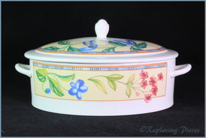 Johnson Brothers - Spring Medley - Lidded Vegetable Dish