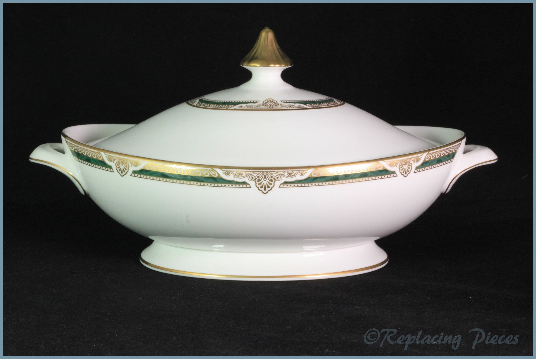 Royal Doulton - Forsyth (H5197) - Lidded Vegetable Dish