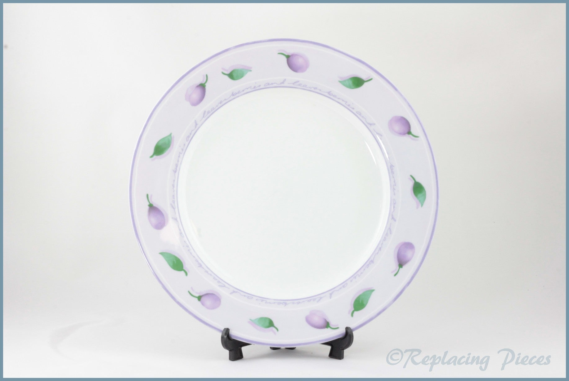 Marks & Spencer - Berries And Leaves - Dinner Plate
