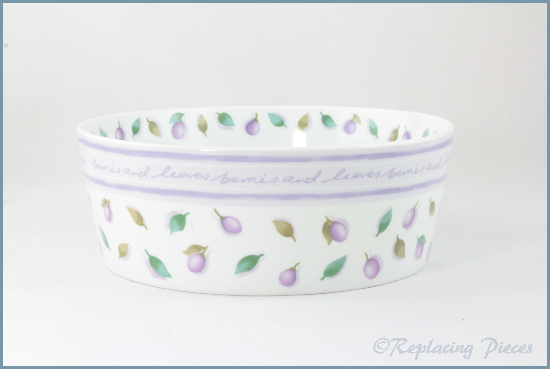 Marks & Spencer - Berries And Leaves - Serving Bowl