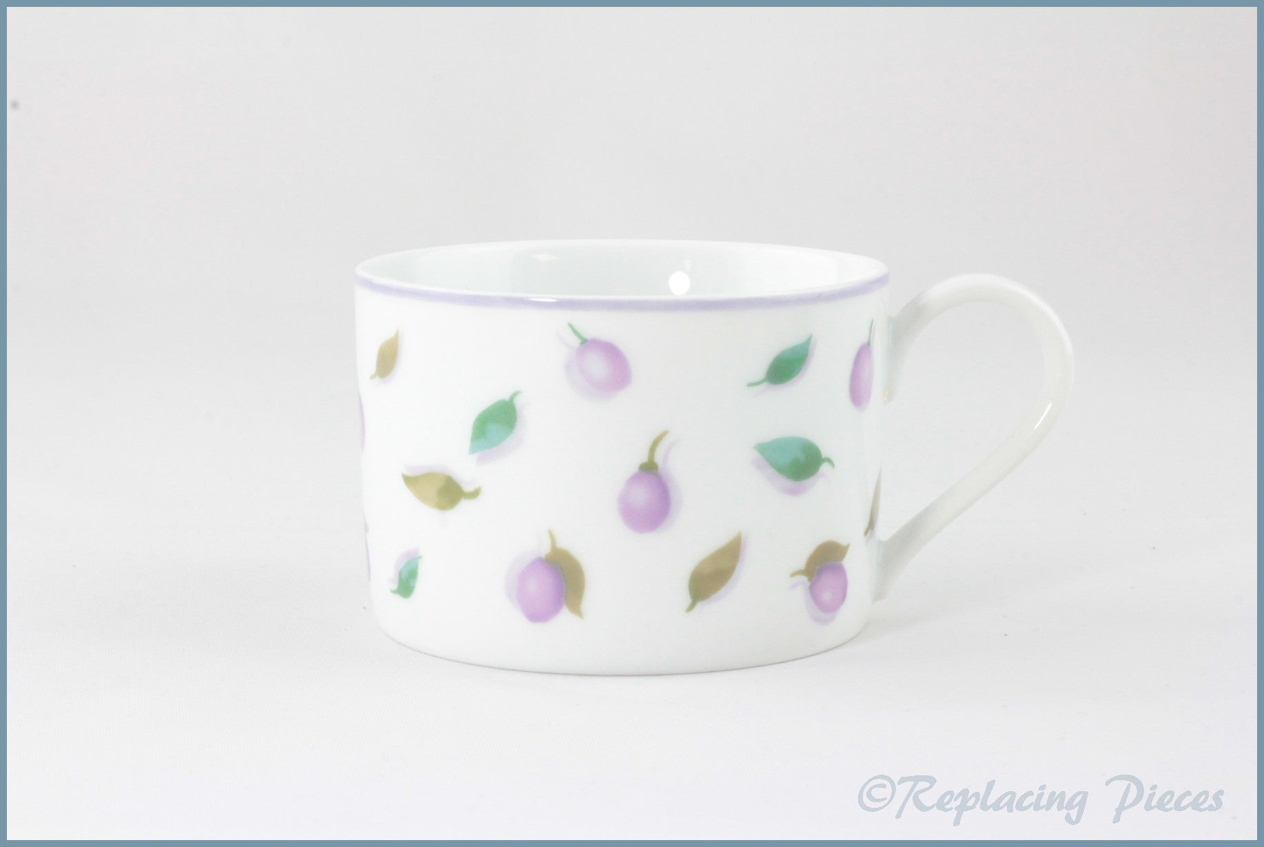 Marks & Spencer - Berries And Leaves - Tea Cup