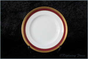 "Coalport - Elite Ruby - 6 1/8"" Side Plate"