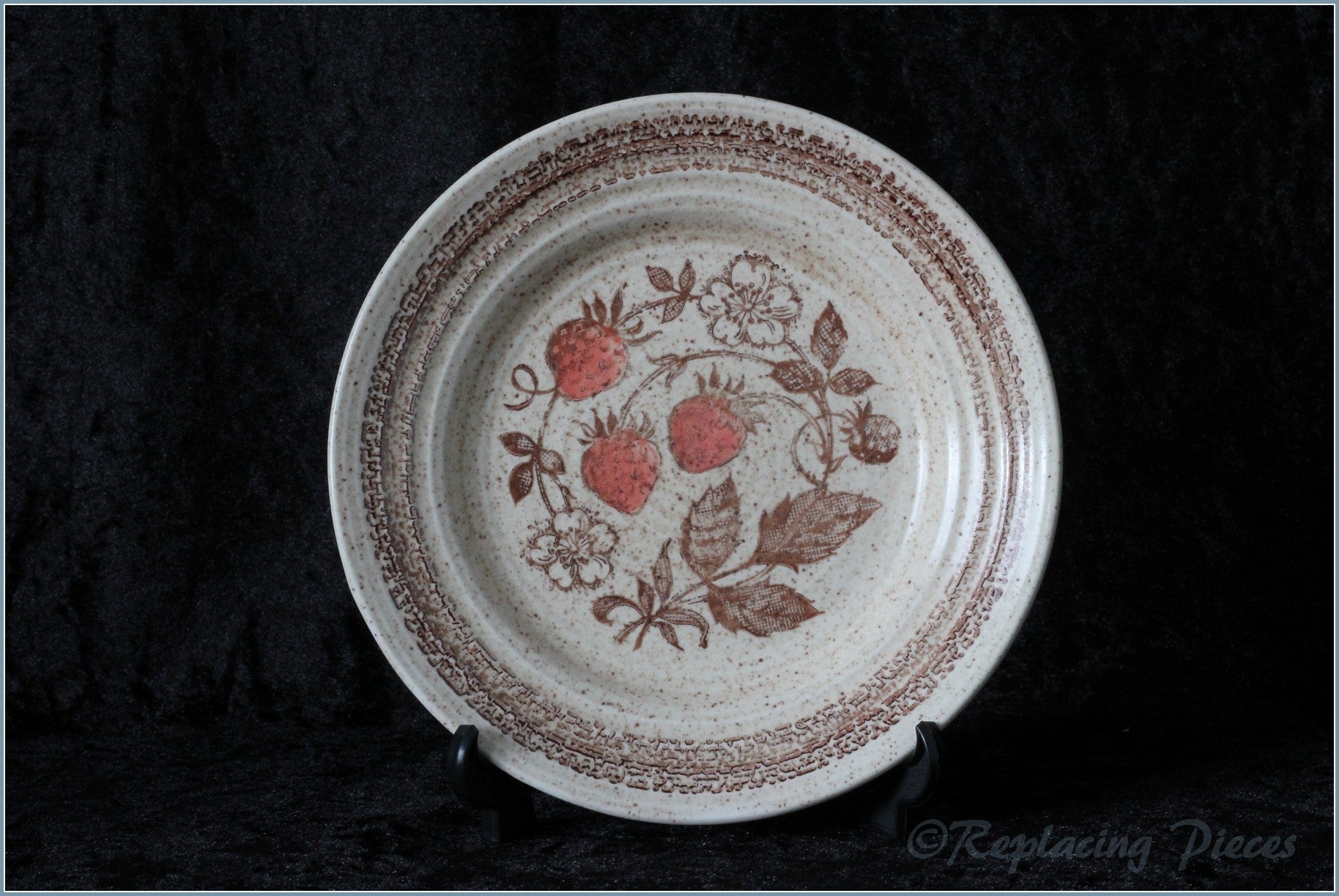 Churchill - Wild Strawberry - Side Plate