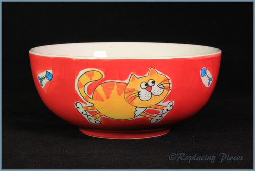Whittards - Cereal Bowl (Cat & Fish)