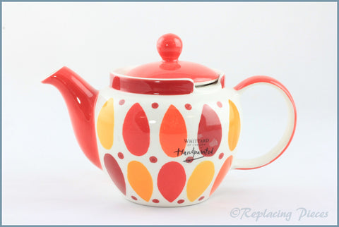 RPW88 - Whittards - 1/2 Pint Teapot (Red Pears)