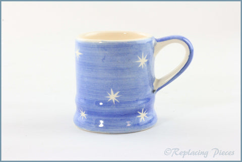 RPW96 - Whittards - Mini Mug (White Stars)