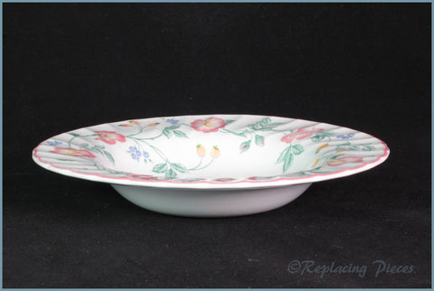 "Churchill - Briar Rose - 8 3/4"" Rimmed Bowl"