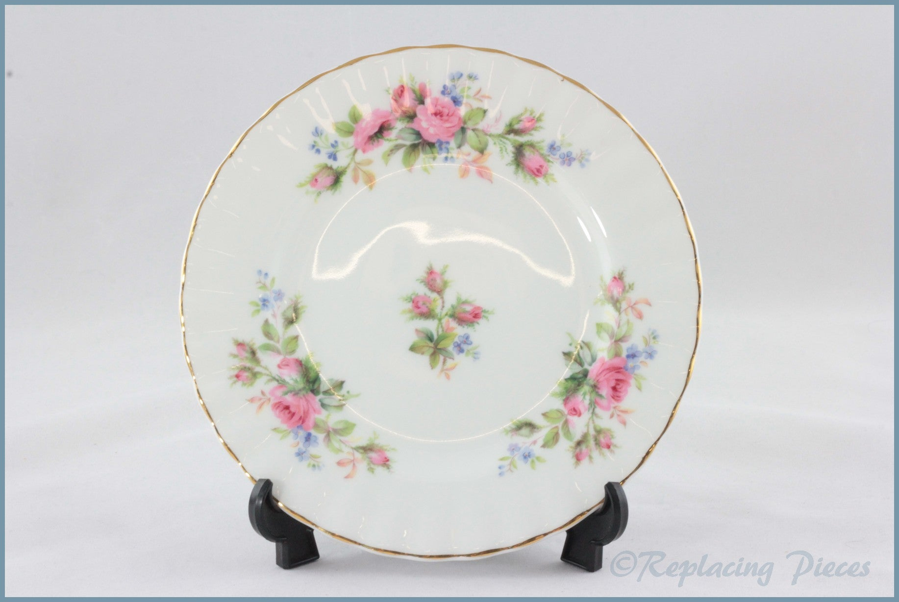 "Royal Albert - Moss Rose - 6 1/4"" Side Plate"