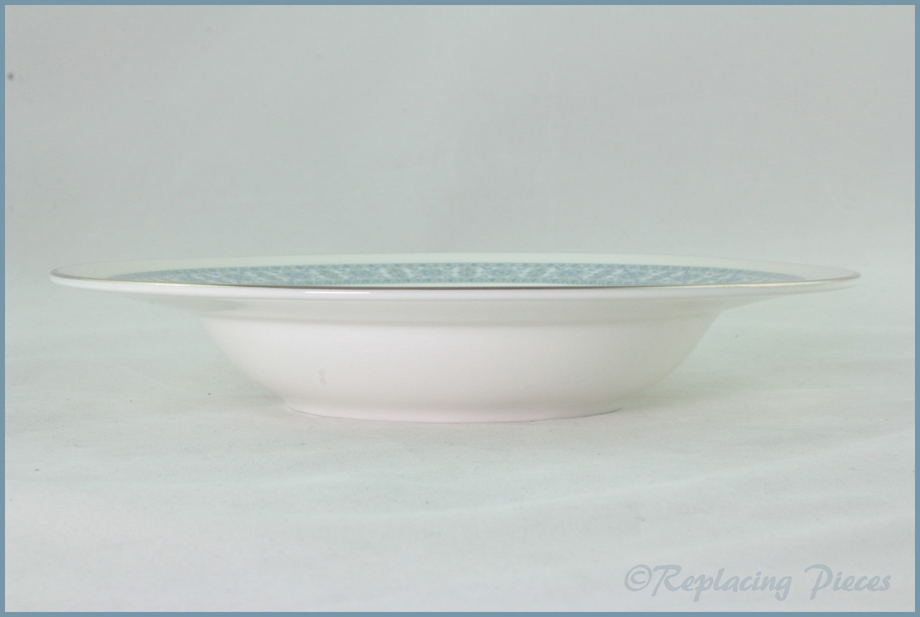 "Royal Doulton - Counterpoint (H5025) - 8"" Rimmed Bowl"