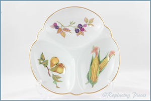 Royal Worcester - Evesham Gold - Hors d'oeuvre Dish