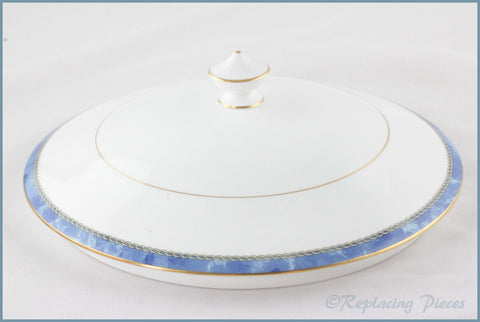 Royal Worcester - Medici (Blue) - Tureen Lid