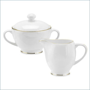 Royal Worcester - Serendipity Gold - Sugar And Cream Set - New