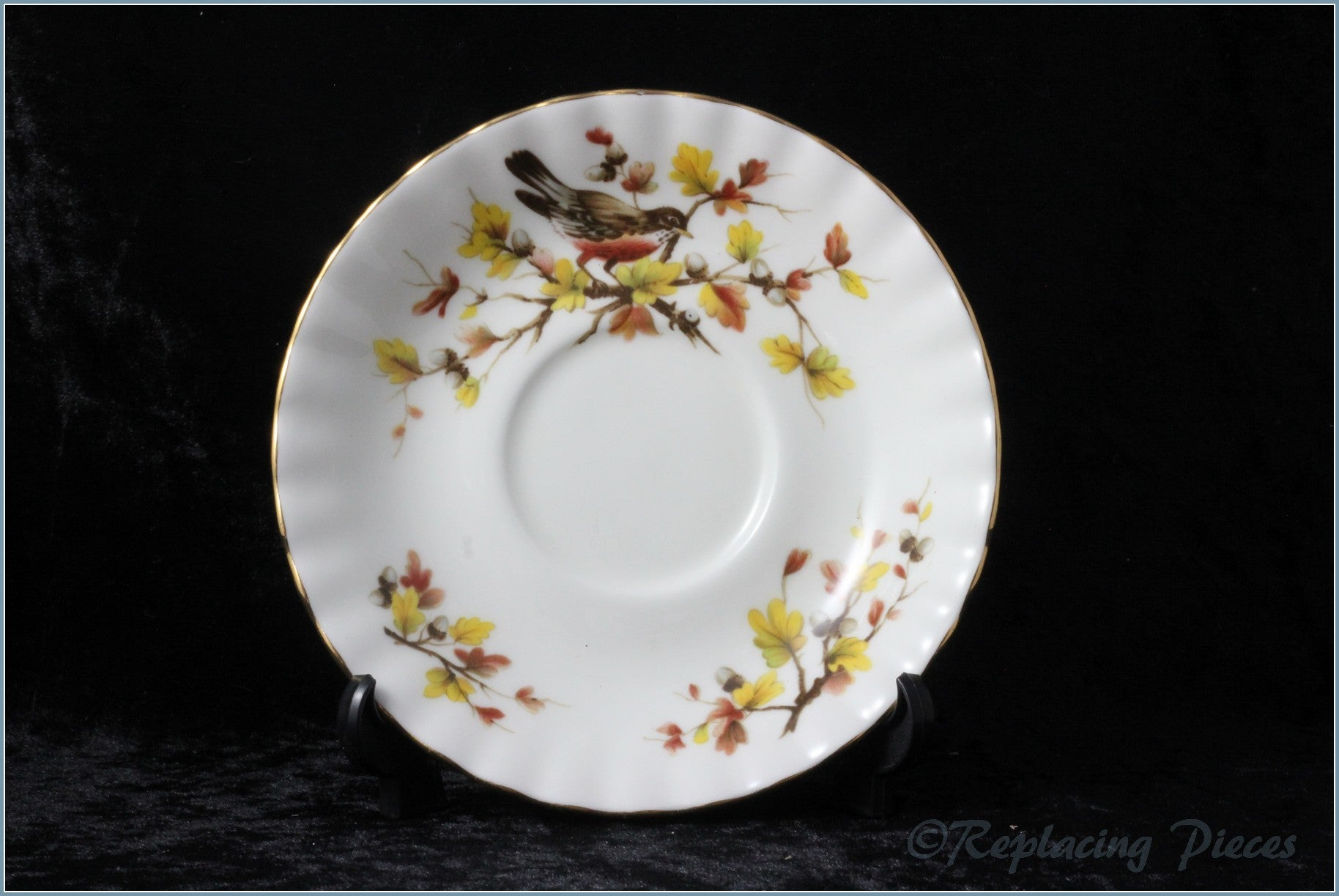 Royal Albert - Woodland Series - Tea Saucer (Robin)