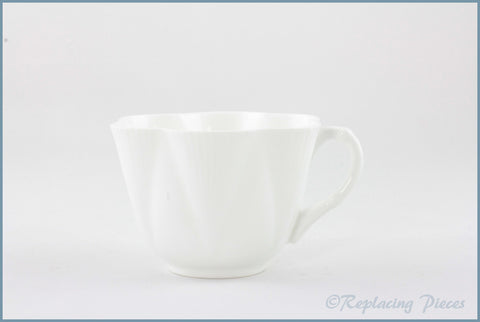 Shelley - Dainty White - Teacup