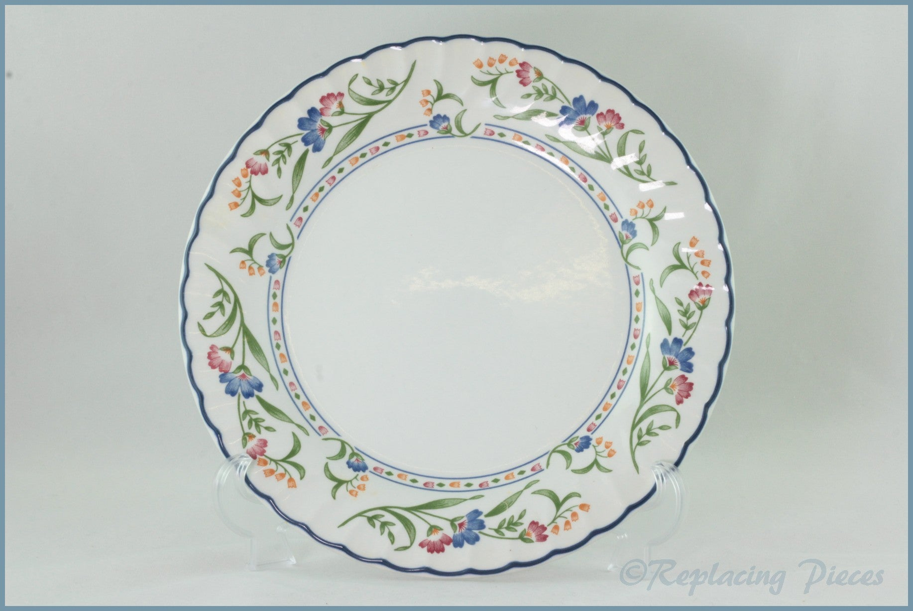 Staffordshire - Hampton Court - Dinner Plate