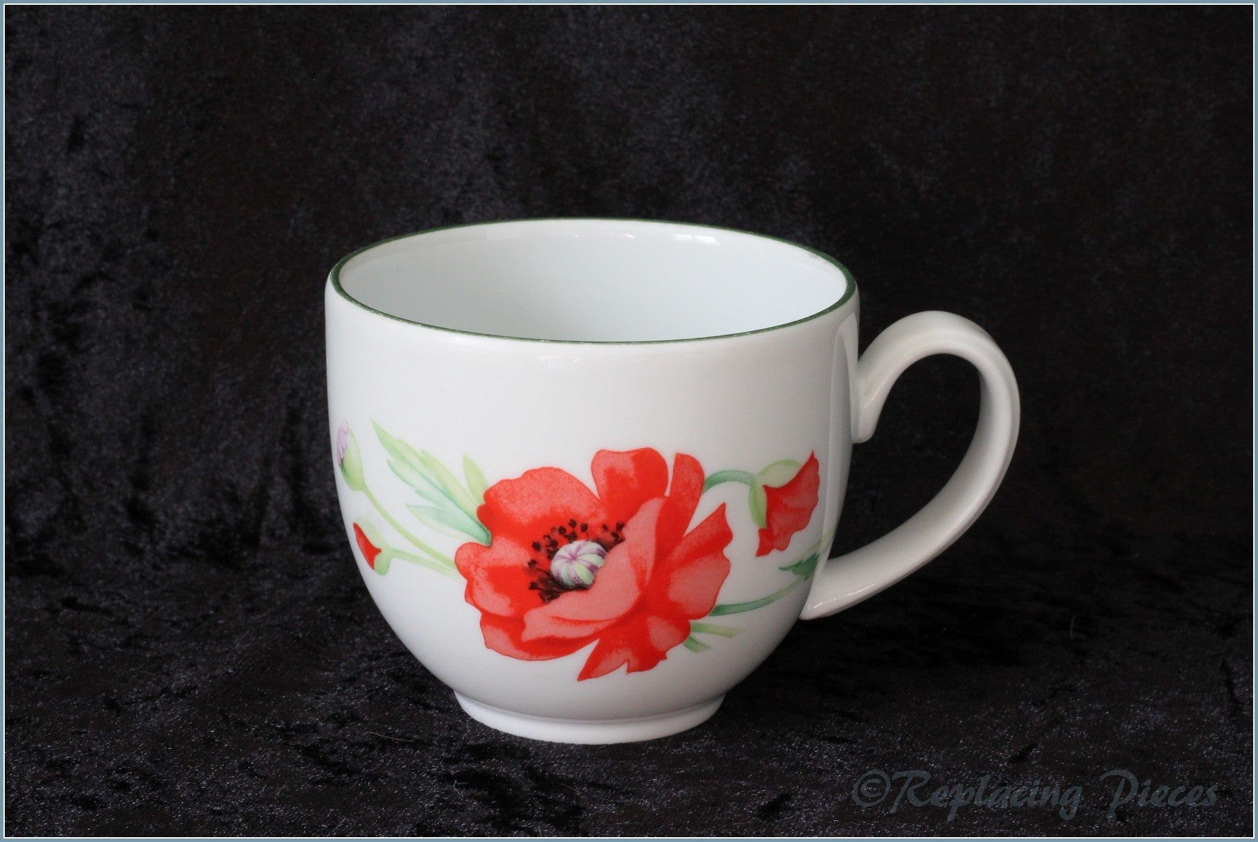 Royal Worcester - Poppies - Teacup