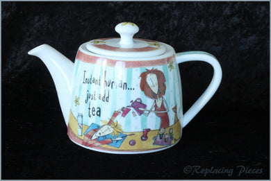 Johnson Brothers - Born To Shop - Teapot (Instant Human)