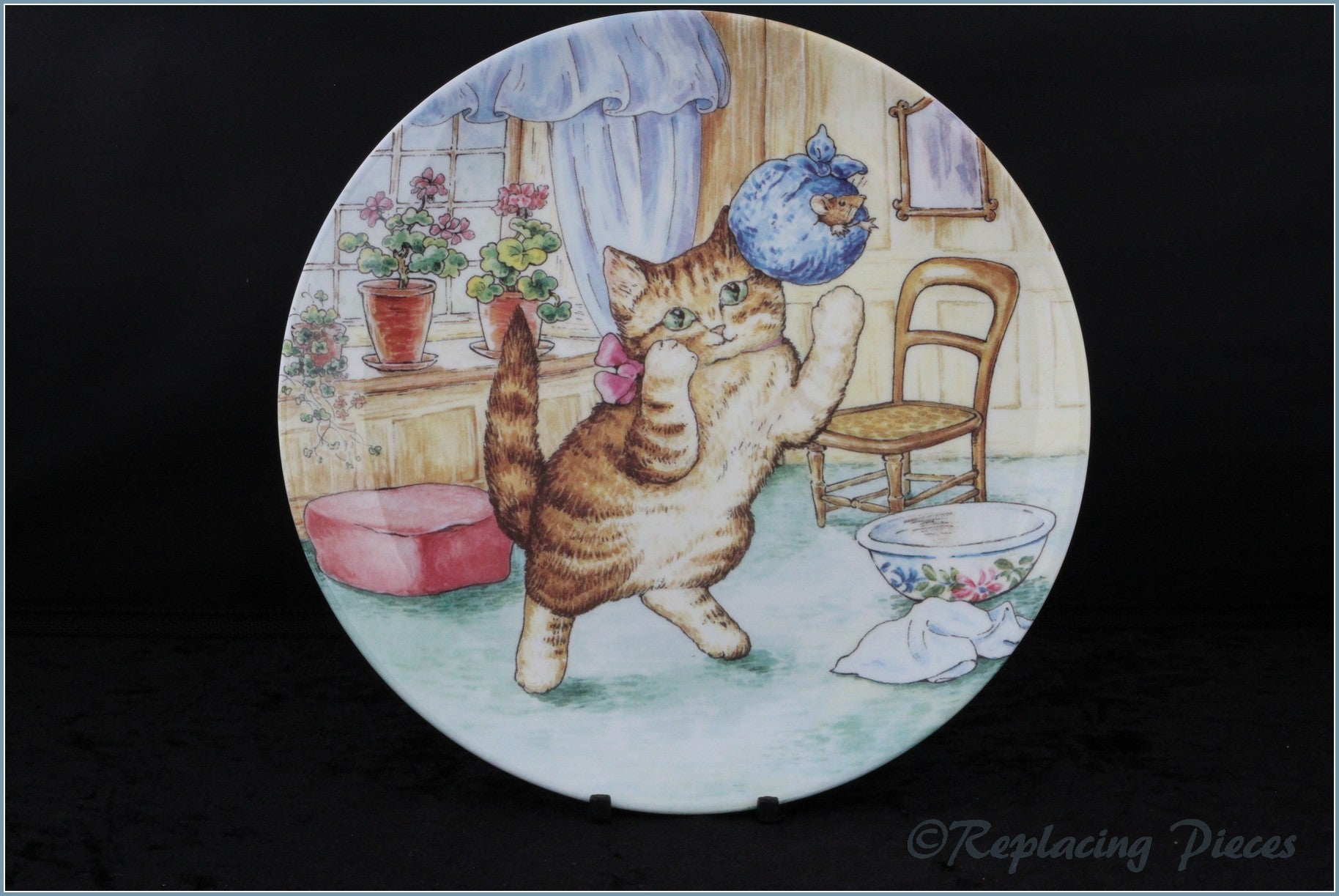 Wedgwood - The World Of Beatrix Potter - The Story Of Miss Moppet