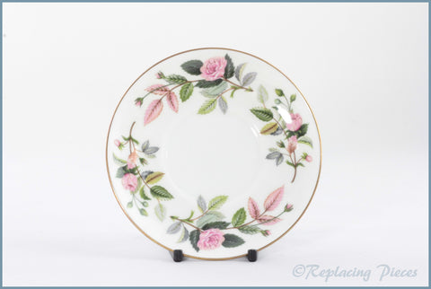Wedgwood - Hathaway Rose - Coffee Can Saucer