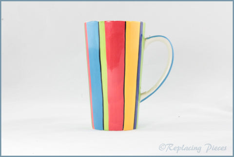 RPW108 - Whittards - Latte Mug (Stripes)