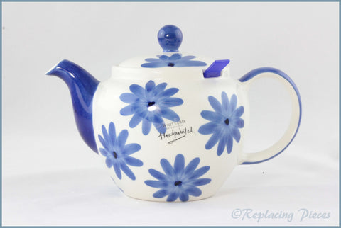 RPW112 - Whittards - Teapot (Tea Clipper - Blue Flowers)