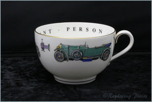 Royal Worcester - VIP - Breakfast Cup (Motor Cars)