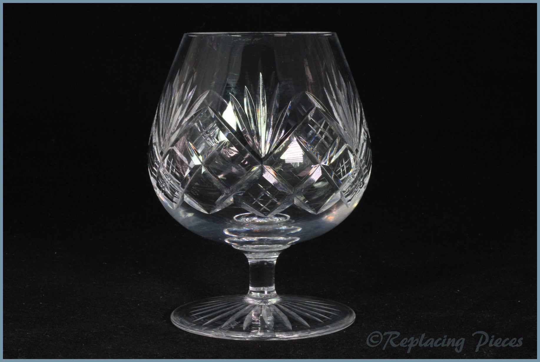 Tudor - Knyghton - Brandy Glass