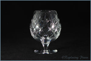 "Webb Corbett - Rolleston - Brandy Glass (4 3/8"" tall)"