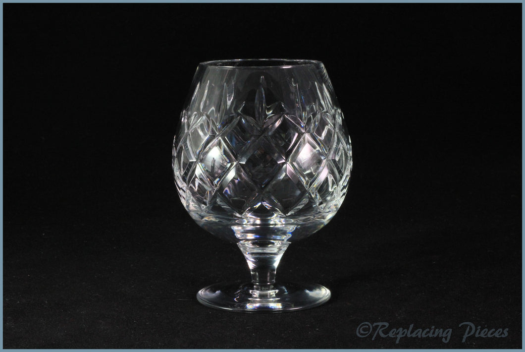 Webb Corbett - Rolleston - Brandy Glass (4 3/8