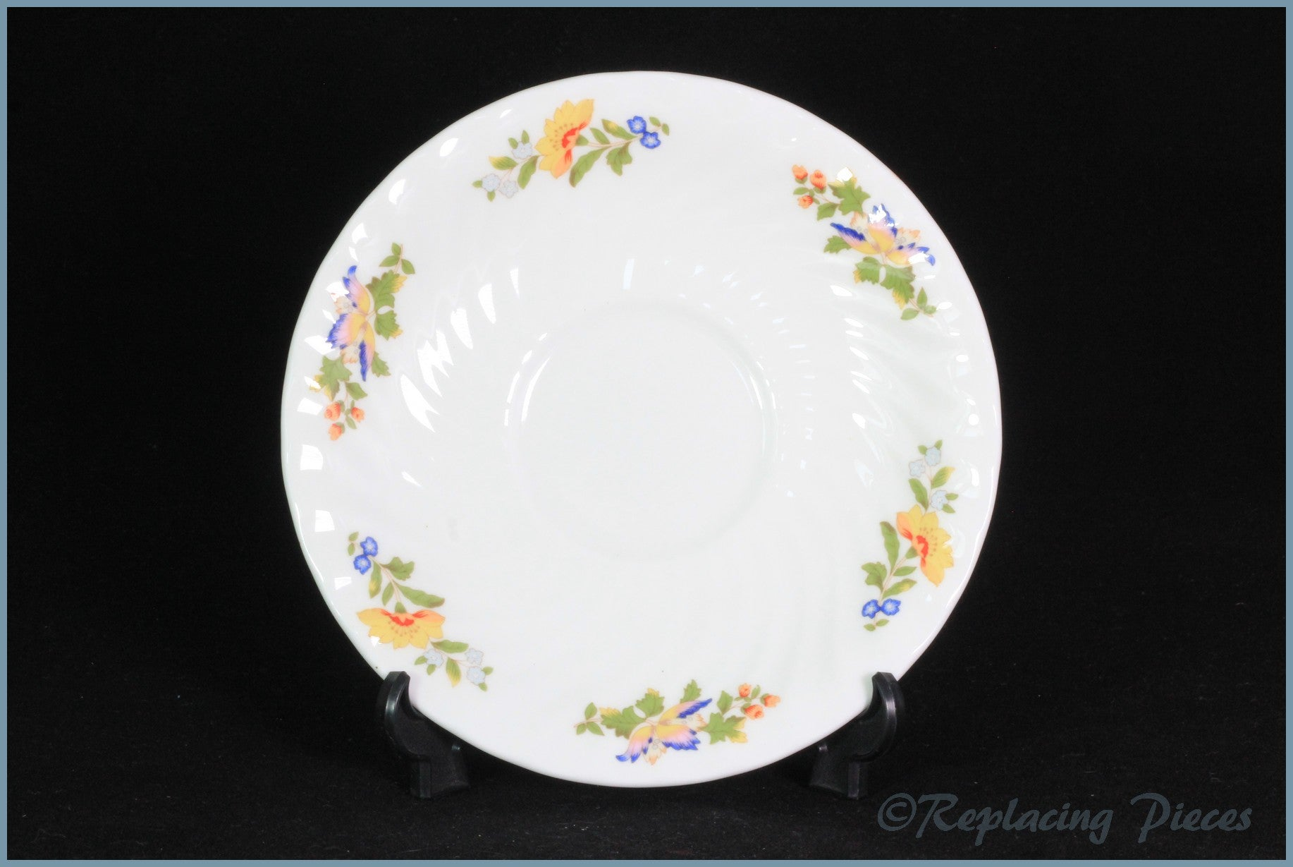 Aynsley - Cottage Garden - Breakfast Cup Saucer