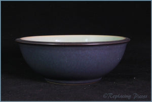 Denby - Energy - Cereal Bowl (Green On Charcoal)