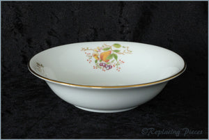 Coalport - Wenlock Fruit (Gold Edge) - Cereal Bowl