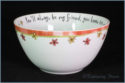 Johnson Brothers - Born To Shop - Cereal Bowl (You'll Always Be My Friend)