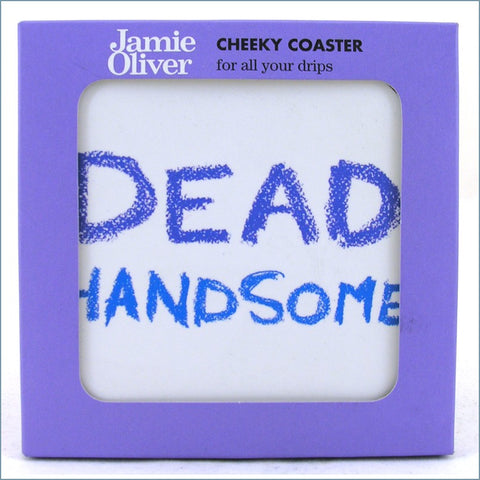 Queens - Jamie Oliver Cheeky Mugs - Dead Handsome Coaster