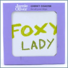 Queens - Jamie Oliver Cheeky Mugs - Foxy Lady Coaster