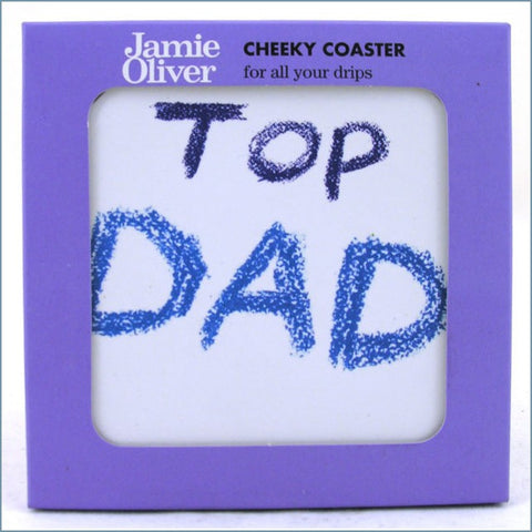 Queens - Jamie Oliver Cheeky Mugs - Top Dad Coaster