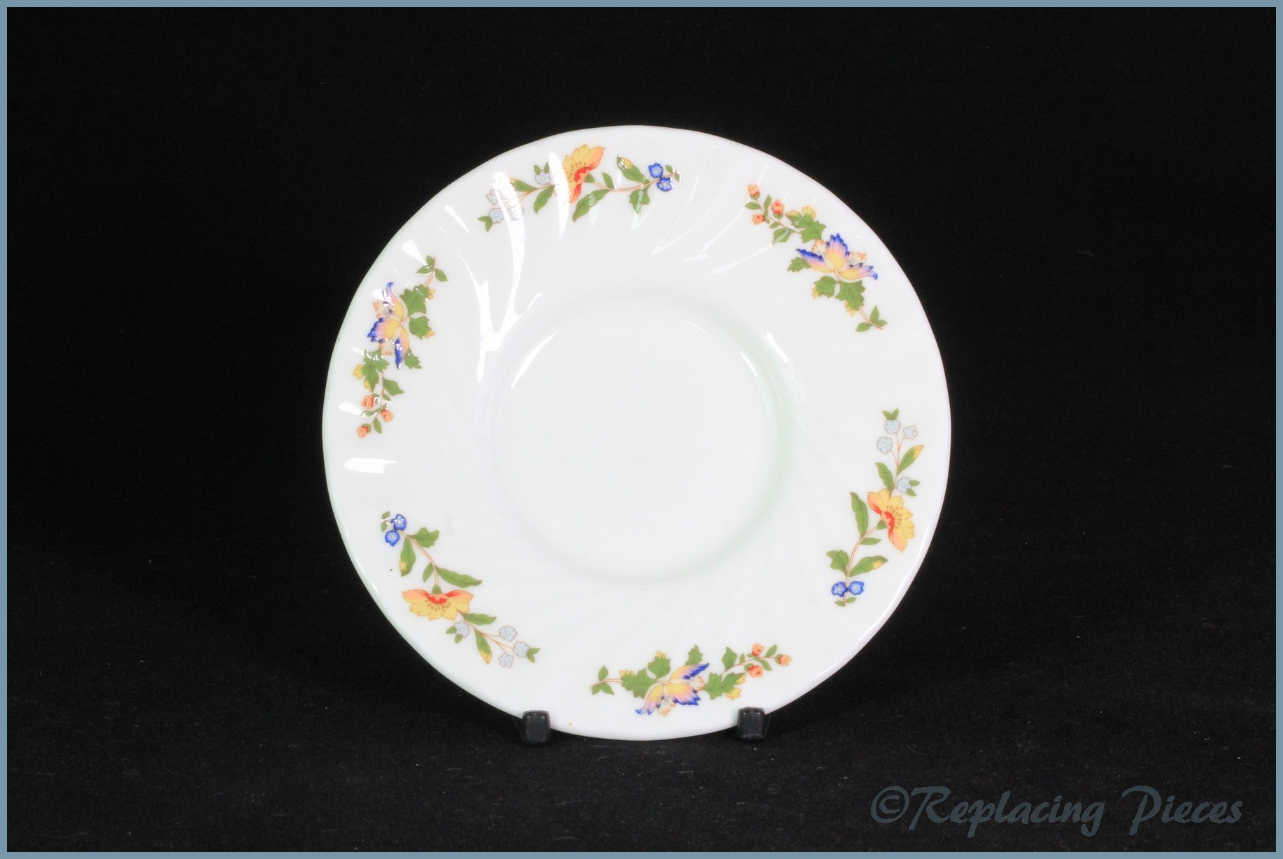 Aynsley - Cottage Garden - Coffee Can Saucer