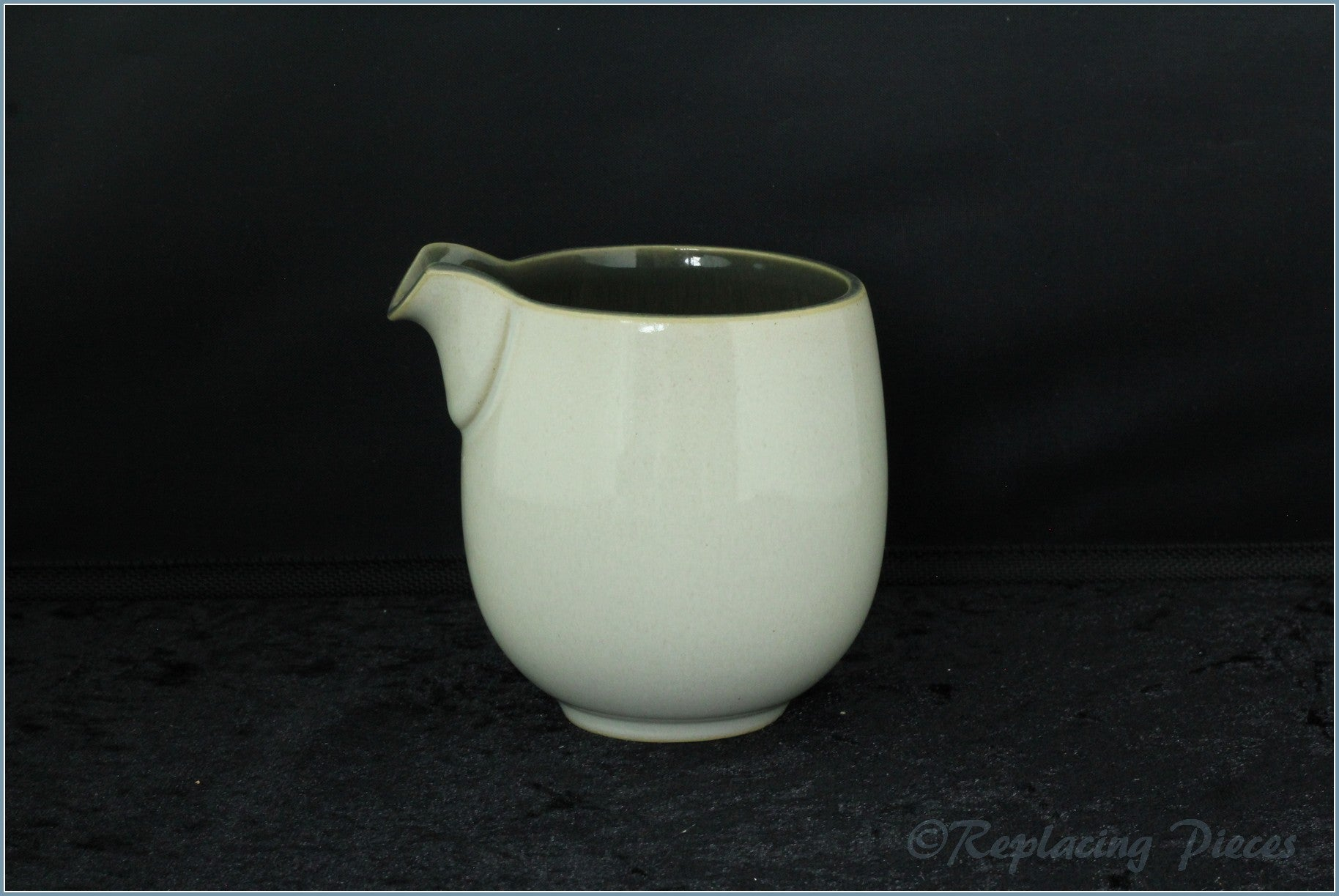 Denby - Smokestone - Cream Jug