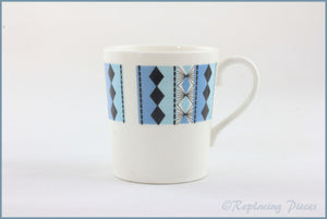 Royal Adderley - Masquerade - Coffee Cup (Blue)