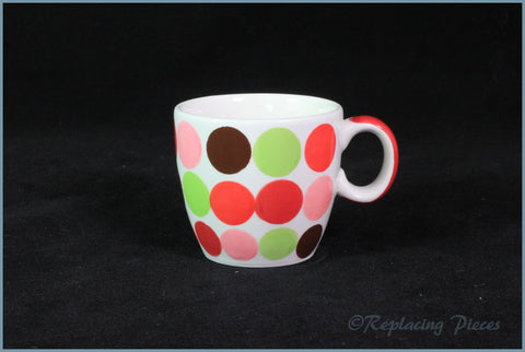Marks & Spencer - Spots & Stripes - Coffee Cup (Large Spot)