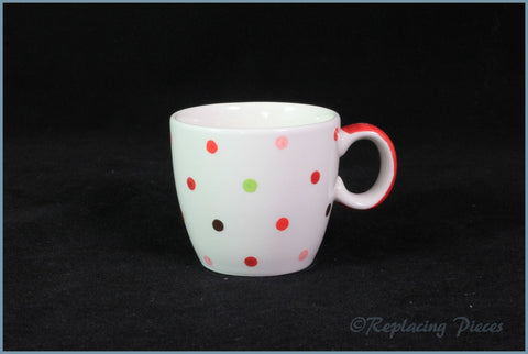 Marks & Spencer - Spots & Stripes - Coffee Cup (Small Spot)